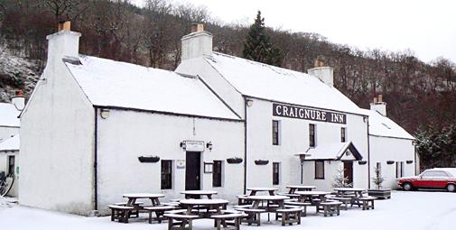 Craignure Inn during Winter 2008